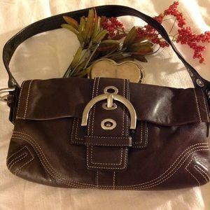 COPY - A Little Brown Coach Bag !
